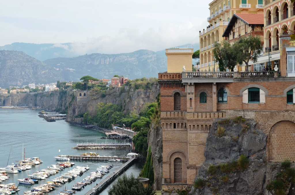 View Down the Sorrento Coast