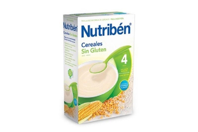 Nutribén cereales sin gluten