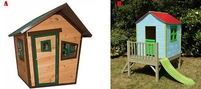 Casitas de jard n para los ni os de madera mamis y beb s for Casitas infantiles jardin carrefour
