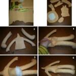 Como hacer una muñeca de fieltro al estilo de mi madre