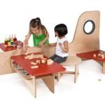 Mobiliario para que los niños se vuelvan locos