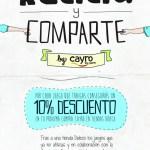 Recicla y comparte tus juegos y juguetes con Cayro, Dideco y Remar