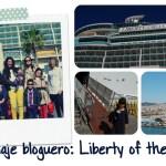 Mañana me iba en el Liberty of the Seas. Ya.