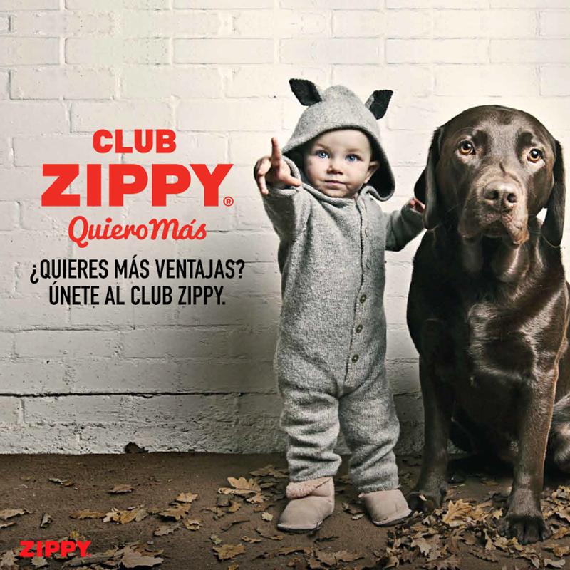 ¡Únete al club Zippy – Quiero más!*