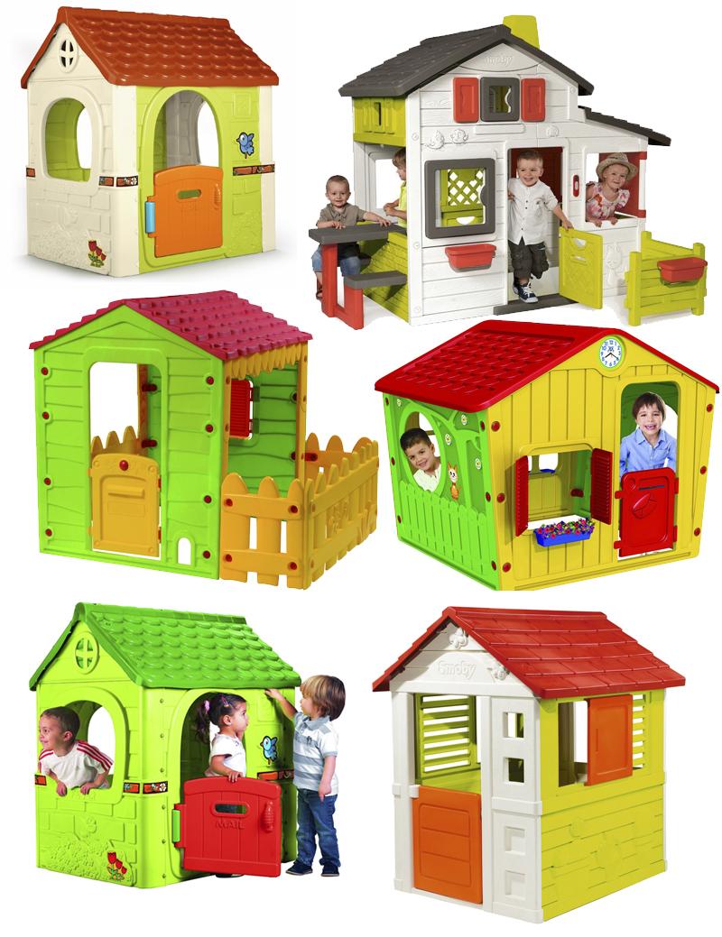 Casitas infantiles para jard n mamis y beb s for Casita plastico jardin