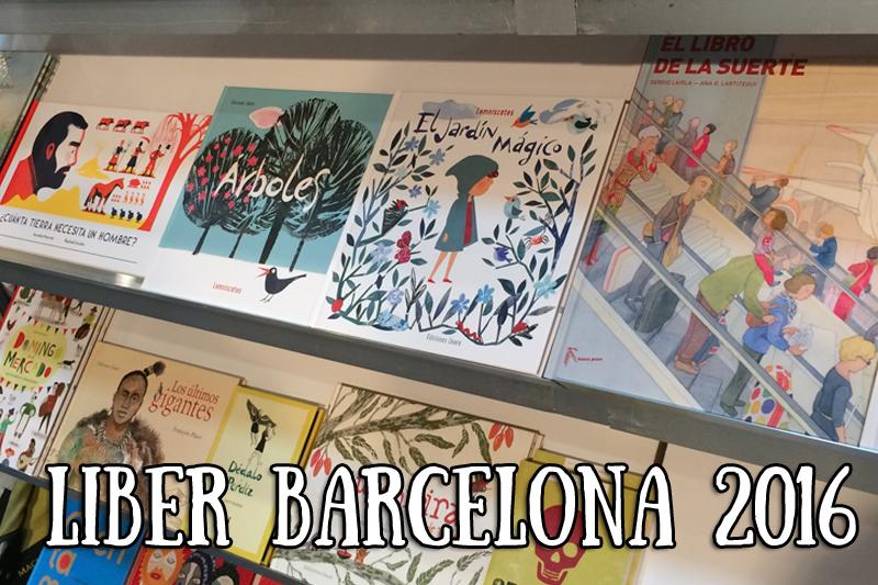 Novedades en el Liber Barcelona 2016