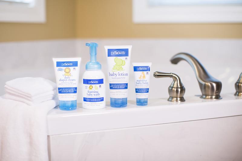 Conoce la línea de higiene y cuidados para el bebé de Dr. Brown´s