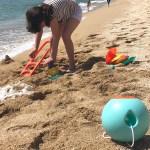 Jugamos en la playa con Quut