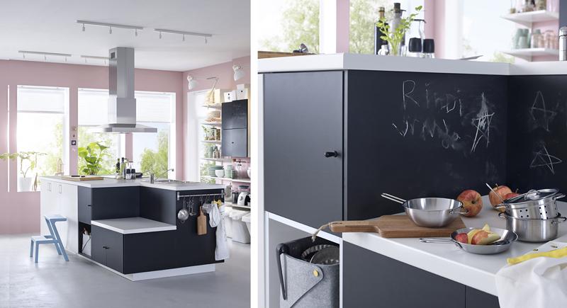 Ikea cocinas fotos cocina mueble a medida de cocinas cobo mesa en maisons du monde y sillas de - Cocinas a medida ikea ...