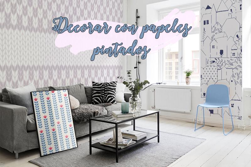 Decora con papeles pintados el dormitorio infantil