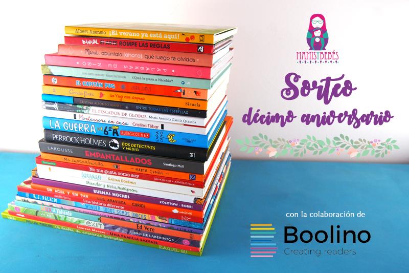 Sorteo décimo aniversario: Amamos los libros