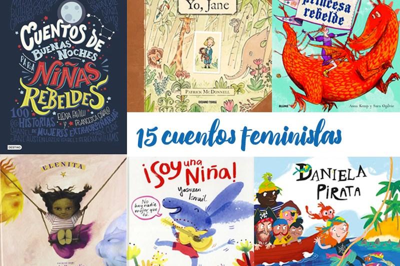 15 cuentos feministas para niños y niñas