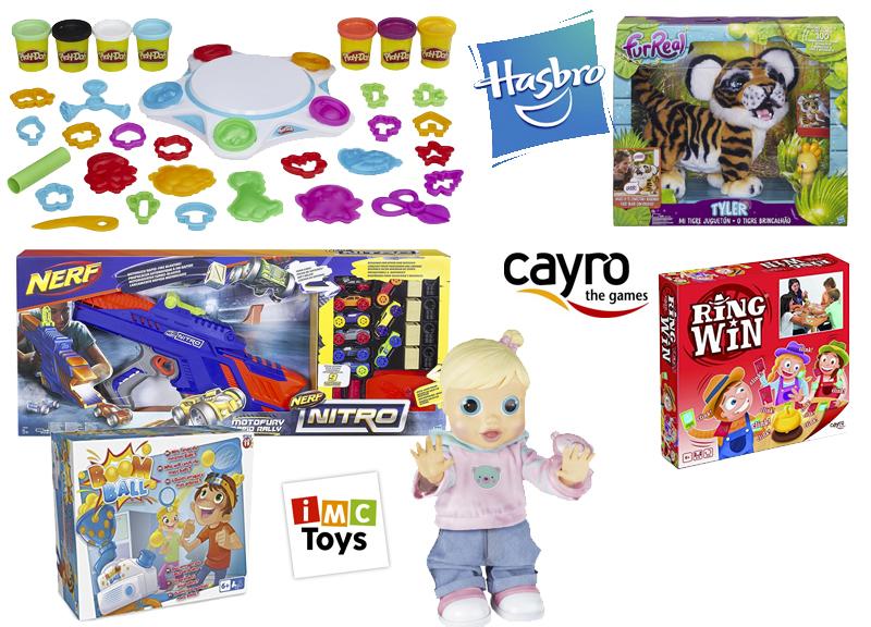 juguetes estrella 2017 Hasbro IMC Cayro