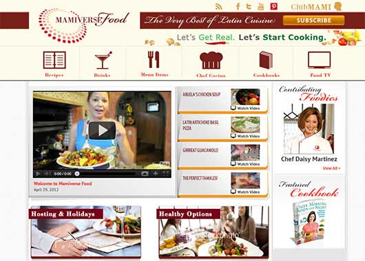 Mamiverse Launches Latin Food Recipe Hub
