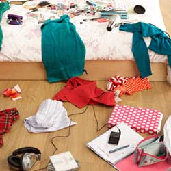 Should You Clean Your Teenager's Messy Bedroom?