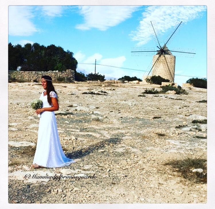 Matrimonio Spiaggia Formentera : Il vestito della sposa a formentera mammadalprimosguardo