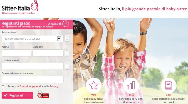 sitter italia
