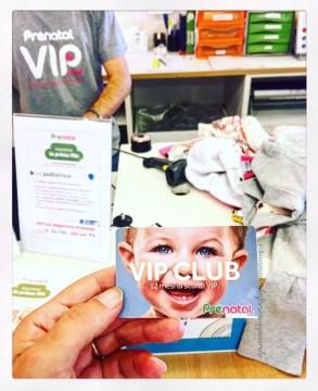 prenatal vip club card