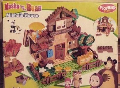 Masha e Orso giocattoli e cibarie e gadget
