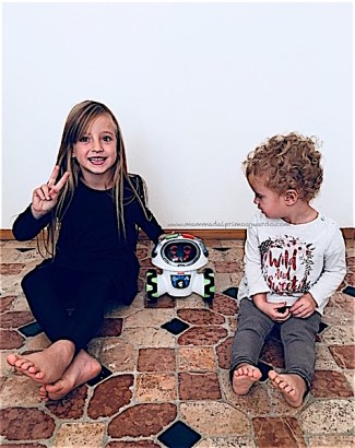 gioco interattivo robot per bambini