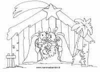 Natale disegni da colorare  Mamma e Bambini