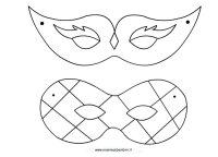 Carnevale: maschere da ritagliare  Mamma e Bambini