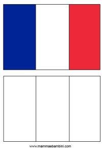 Bandiera Della Francia Da Colorare Bandiera Francia Da
