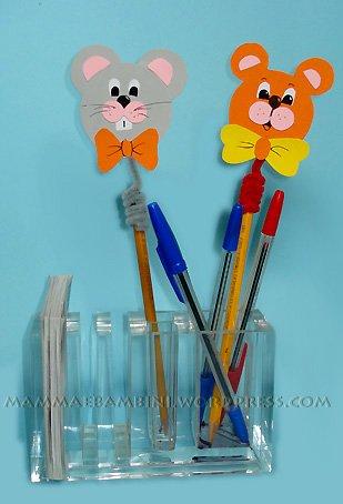 Lavoretti per bambini decorazioni per penne  Mamma e Bambini