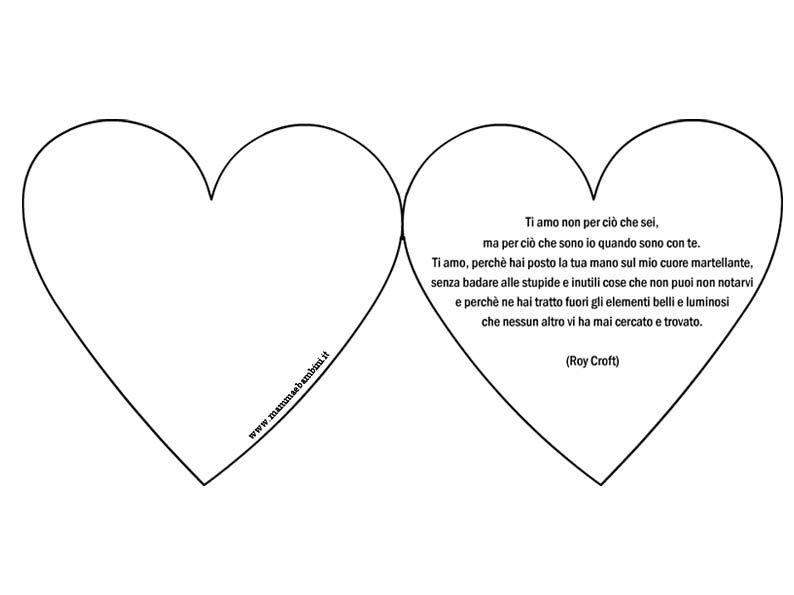 Tanti biglietti con le frasi più belle sull'amore