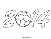 Disegni da colorare: Pallone da calcio