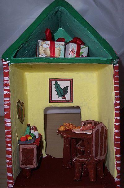 La casa di Babbo Natale  Mamma Felice