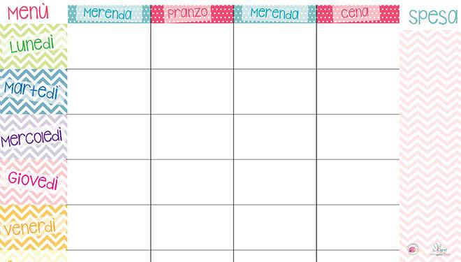 Calendario 2017 Settimanale Da Stampare VB08 Pineglen