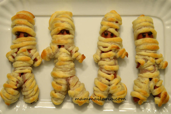 mummie zombie di halloween