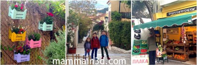 Atene: quartiere Plaka