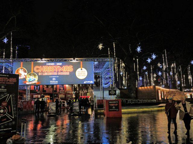 Londra Luci di Natale MammaInViaggio