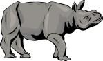 Dewi Rhinoceros: The Mammalian Daily's choice for Animal of the Year