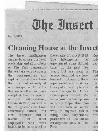 Insect Intelligencer
