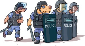 Park Police Riot Squad