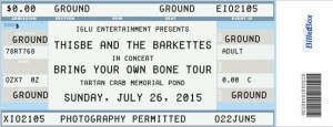 Barkettes #4 ticket