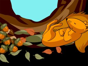 Hibernating Animal