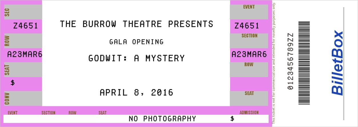 Ticket for Gala