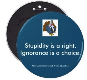 STUPIDITY Button