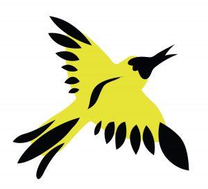 yellow-bird-soaring