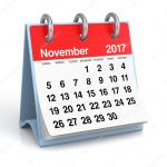 What's coming up in November