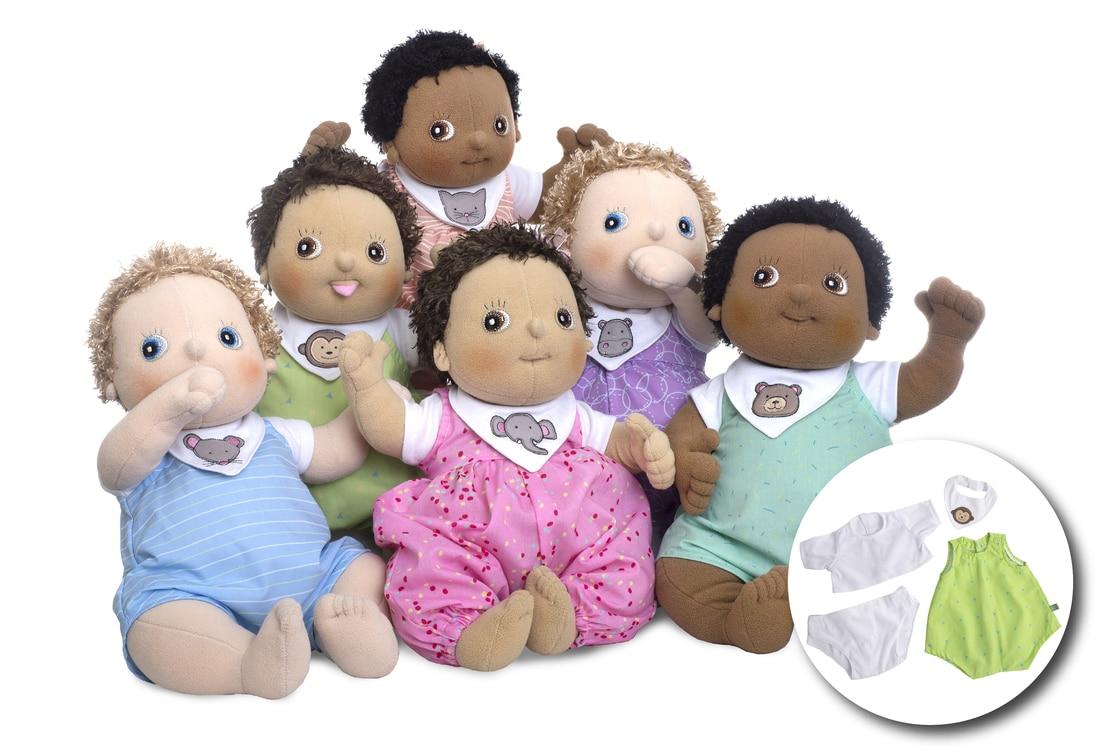 Rubens Barns le bambole empatiche da gioco e da terapia