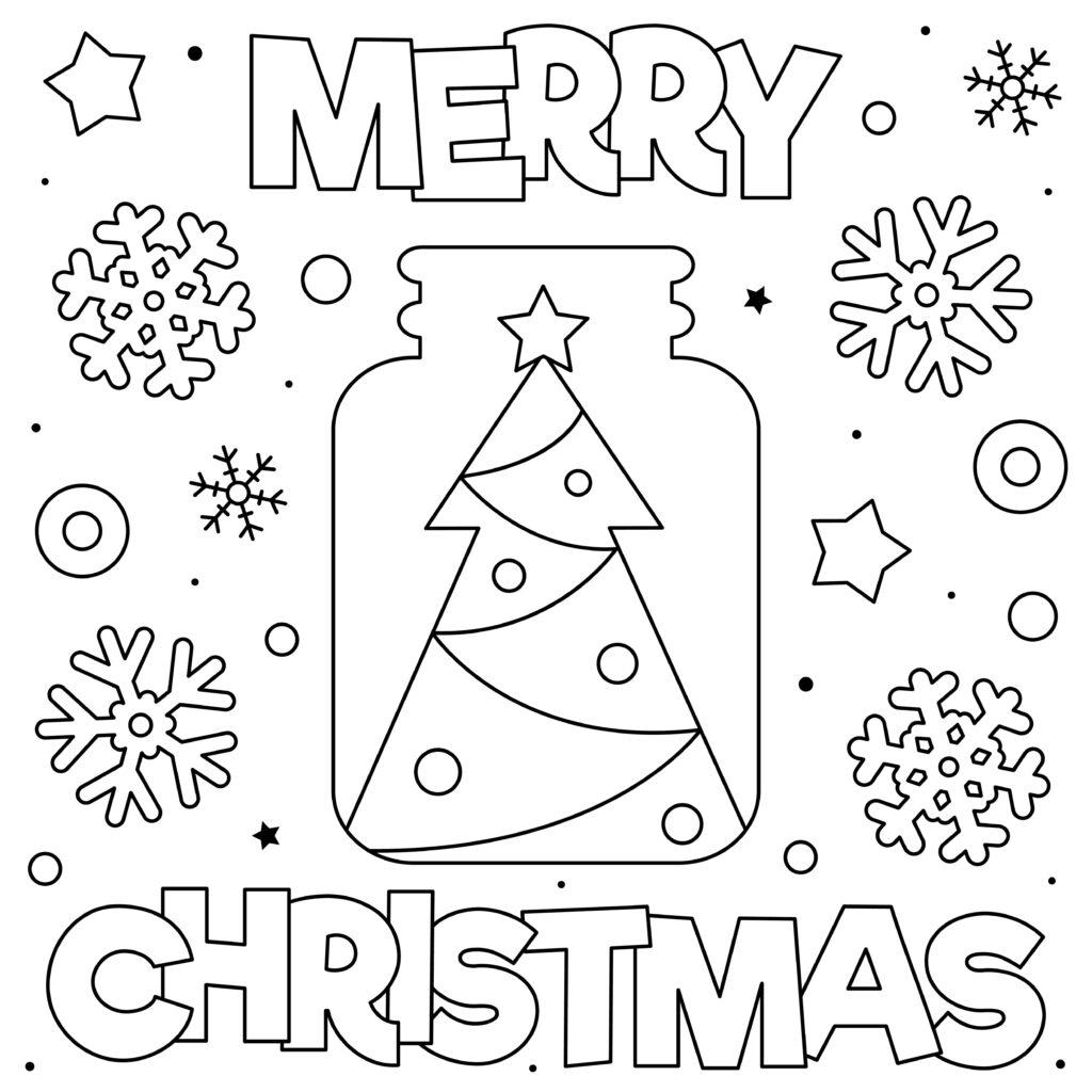 Non solo, potrete trovare dei topini che cantano il coro natalizio, il presepe con la stella cadente, alberi di natale differenti e angioletti. Disegni Di Natale Da Colorare