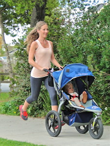 jogging con passeggino