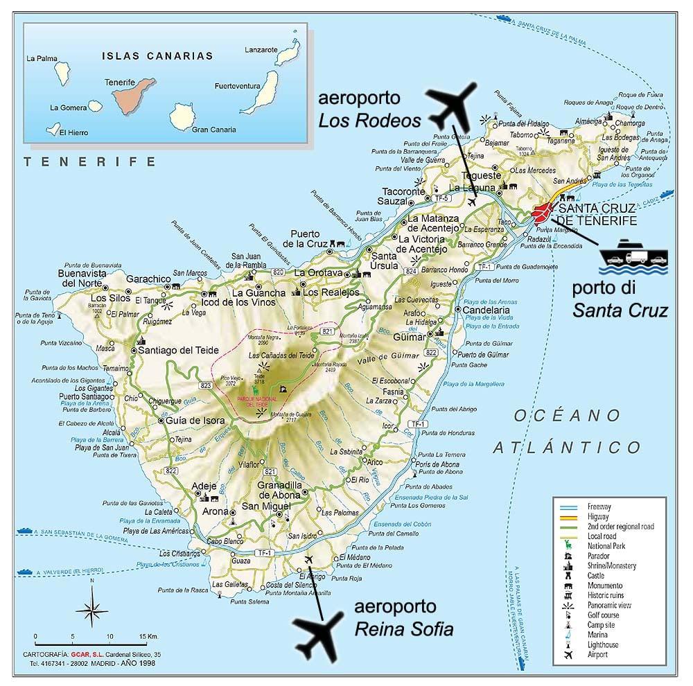 Aeroporto Tenerife Sud : Tenerife con i bambini mammapoppins