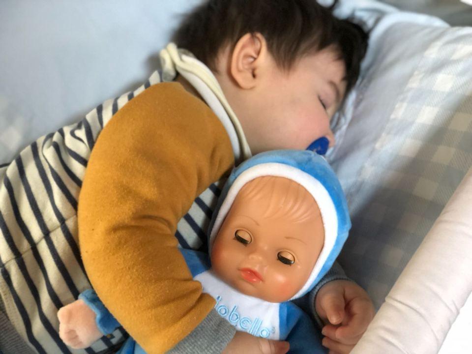 bambolotto per bimbi piccoli
