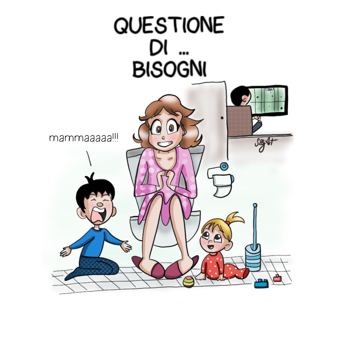 Vignette da mamme mammapoppins - In bagno con mamma ...